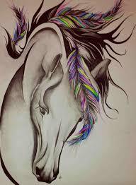 art by marina original horse paintingrhmarinajoyartblocom joy colorful horse head painting of art by marina original