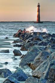 Morris Island Lighthouse Wow Shots In 2019 Lighthouse