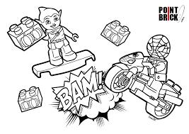 Point Brick Blog Disegni Da Colorare Spiderman E Dottssa Peluche