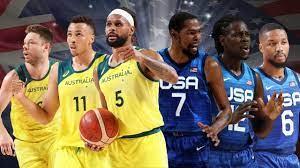Australia Boomers v USA start time ...