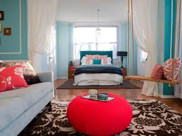 Living Room Bed Teenage Bedroom Color Schemes Pictures Options Ideas Hgtv