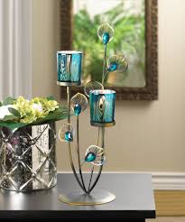 Marvelous Decoration Ideas With Peacock Home Accents Interior Design :  Exciting Free Standing Bronze Frame With