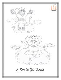 Small Picture A Zoo in the Clouds Coloring Pages Sing A Story
