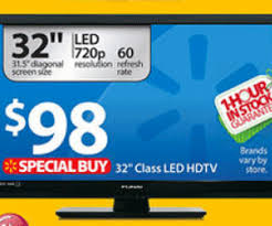 $98 Funai LF320FX4F 32-inch LED HDTV Walmart Doorbuster Deal is Easy Catch