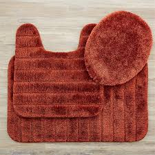 rust colored bath rugs attractive 11 outstanding designer direct divide