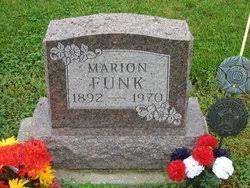 Marion Funk (1892-1970) - Find A Grave Memorial