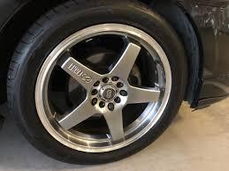 Enkei Performance Wheels Enkei Ev5 Hyper Black Matte