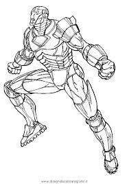Disegno Ironman17 Personaggio Cartone Animato Da Colorare