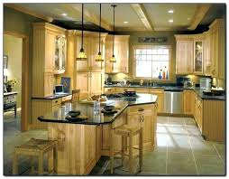 Kitchen Colors With Light Wood Cabinets Interesting Decoration