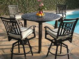 amusing outdoor dining room decoration with outdoor pub table and chairs stunning ideas for outdoor