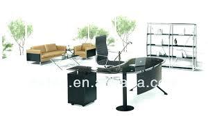 high end office desk. Glass Office Furniture Top Desks Desk High End Executive Mirror