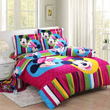 striped purple mickey and minnie mouse full size bedding kids mickey and minnie mouse bedspread