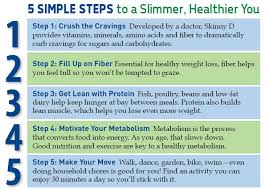 skinny d 5 step program and post to view daily