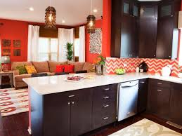 Orange Kitchens Decorative Painting Ideas For Kitchens Pictures From Hgtv Hgtv