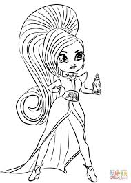 Coloring Pages Shimmer And Shine At Getcoloringscom Free