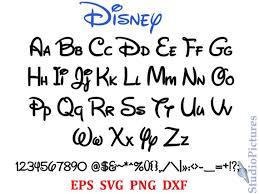 Disney Font Walt Disney Font Svg Font Svg Alphabet Ttf Included Alphabet Letters Calligraphy Printables Disney Alphabet Svg Font Font Svg Fonts