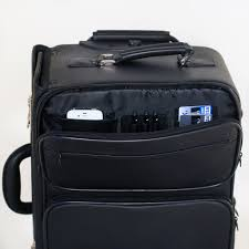 executive leather rolling briefcase rc500