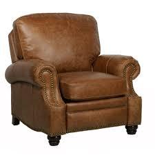 barcalounger longhorn ii recliner chair top grain leather