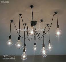 hot ing modern lamp 10 lights edison light bulb chandelier aslo pertaining to design 3
