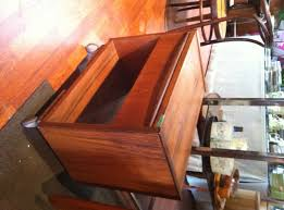 office rolling cart. modren cart small teak rolling office cart with storage shelf and drawer measures  22 inches wide and office rolling cart