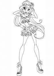 Disegno Di La Principessa Bloom Da Colorare Disegni Da Colorare E