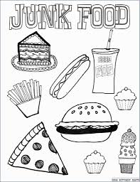 Cute Food Coloring Sheets Pages Pizza For Kids Free Printable