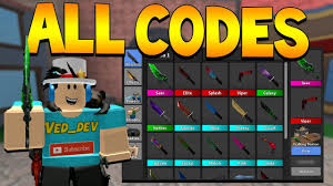 You can enter the codes there! Roblox Murder Mystery 2 Codes Updated List February 2021