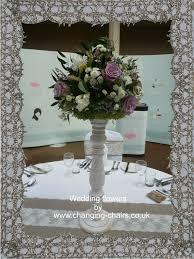 white wooden flower base wild vintage flower design 1