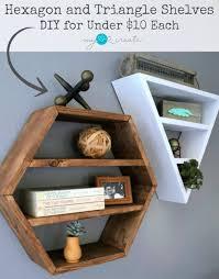 16 elegant diy triangle shelf ideas