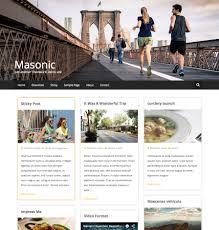 15 best personal blog wordpress themes templates 2017 wordpress theme for personal blog masonic