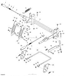 John Deere Mower Deck Belt Diagram