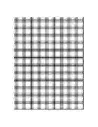 Printable Graph Paper Full Page 1 Inch Downloadable Graph Paper