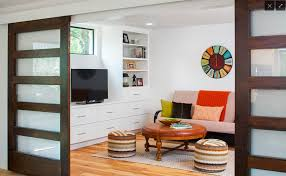 how can you use sliding glass barn doors