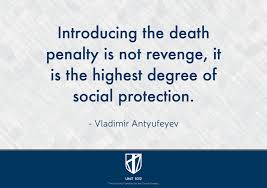unit the victims families for the death penalty letters  unit 1012 the victims families for the death penalty letters defending the use of the death penalty in america