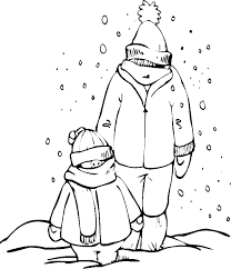 Small Picture Two Men Dressed In Thick Snow Day Coloring Pages Winter Coloring