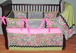 paisley crib bedding set fascinating baby girl nursery room decoration using paisley baby girl bedding set interesting image of paisley baby bedding sets