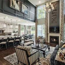 Gallery walls and oversized art are probably the most common solution to fill up those tall walls. 39 Tall Wall Decor Ideas Family Room Home Living Room Room Design