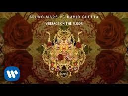 bruno mars vs david guetta versace on the floor official audio