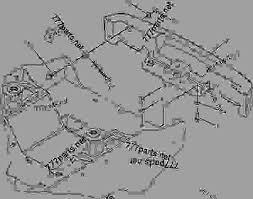 2598194 valve group solenoid parking brake skid steer loader 2598194 valve group solenoid parking brake skid steer loader caterpillar 287b 267b 277b 287b multi terrain loader zsa00001 up machine powered by