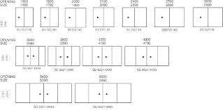 Commercial Garage Door Size Chart Standard Commercial Door Height Flatheadeyh Org