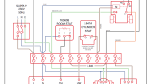 domestic central heating system wiring diagrams; c, w, y & s plans thermostat wiring 2 wires at Heating Wiring Diagram