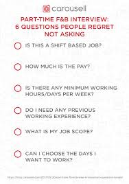 Questions To Not Ask In An Interview Part Time F B Interview 6 Important Questions People Regret Not