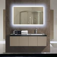 gorgeous modern bathroom vanity mirror 28 led lighted mirrors and espresso cabinet with white granite washbowl for wall mounted