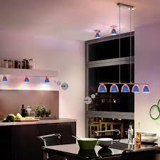Led Aufbau Irisierend Glas Lampe Wohnraum Leuchte Hänge
