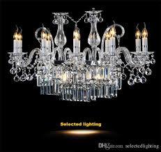 modern rectangle crystal chandelier light fixture 12 lights glass chandelier lighting re hanging dining room l 40 x w 21 x h 23 michigan chandelier