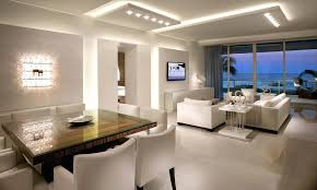 interior lighting. Ceiling And Wall Light Sets Modern Interior Lighting Design With Cool Lamp White Sofa Plus 1
