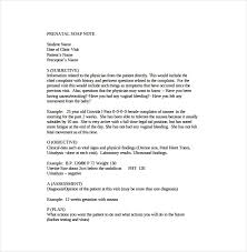 Free Physical Therapy Soap Note Template Ten Things Your