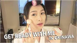 no makeup makeup look grwm in okinawa
