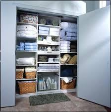 linen storage ideas linen closet contemporary closet no linen closet storage ideas
