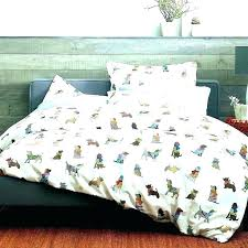 dog duvet cover covers nz print sheets bedding sets kids king size queen double quilt cartoon bed in a bag cotton thick western duvets quee